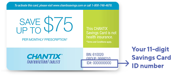 image regarding Chantix Printable Coupons identified as Get started Preserving Upon CHANTIX® CHANTIX® (varenicline) Web-site